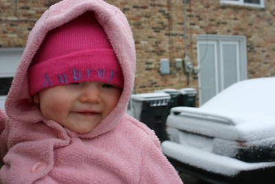 Snow Day in Bham! 03-01-09
