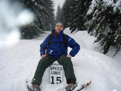 Snowshoe trip Jan 19, 2008