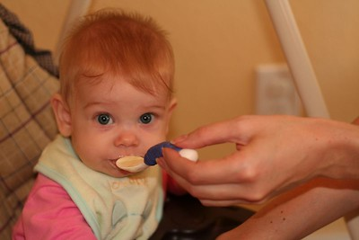 Sophia's First Cereal