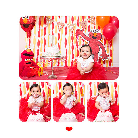 Souleia First Birthday Session