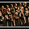 Panaramic view of Concert Choir