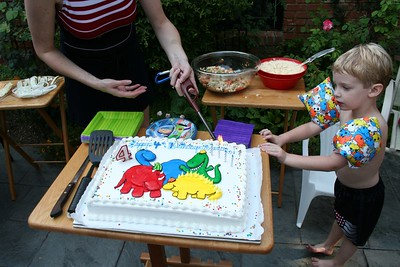 Spencer's 4th Birthday Party