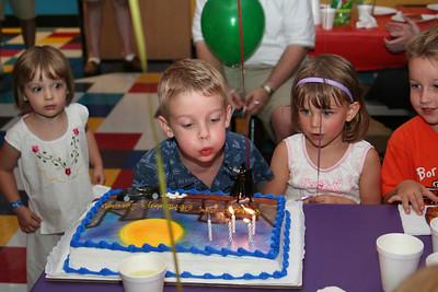 Spencer's 5th Birthday