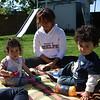 Auntie Nessa with the kids