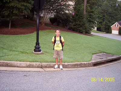 Start of School Fall of 2005