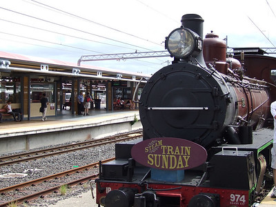 Steam Train Ride 1st Apr '07