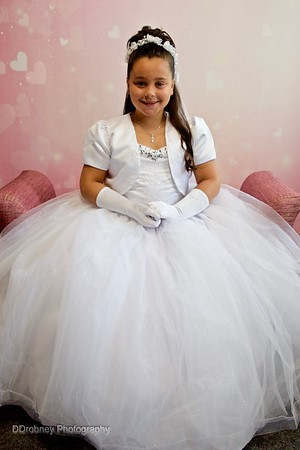 Anna's First Communion Session