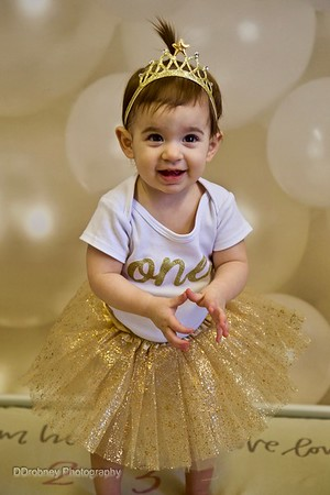 Baby Evelyn's first year!