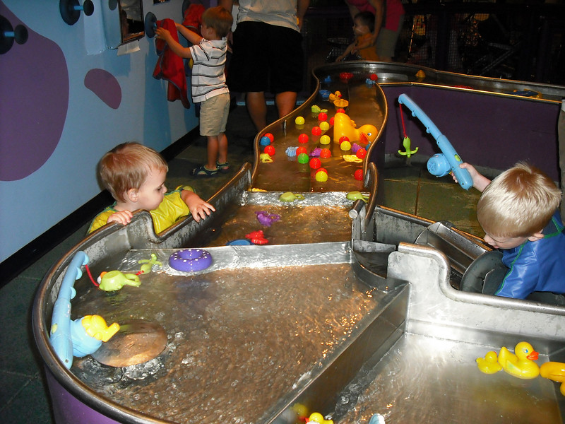 LOVED the water table.