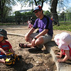 Jaden, Unca Doo and Cyane at the park