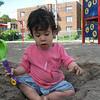 Our little sand devil