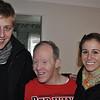 Chris, JT loving life, and Megan at Grandma's house