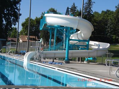 swim day 7-29-11