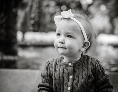 Tessa, one year