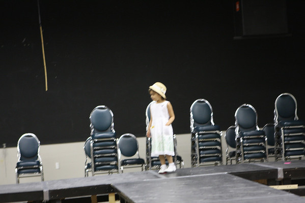 Test Shots - Dress Rehersal for Kids's Fashion Show