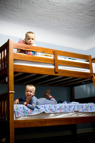 The Bunk Bed Milestone . . .