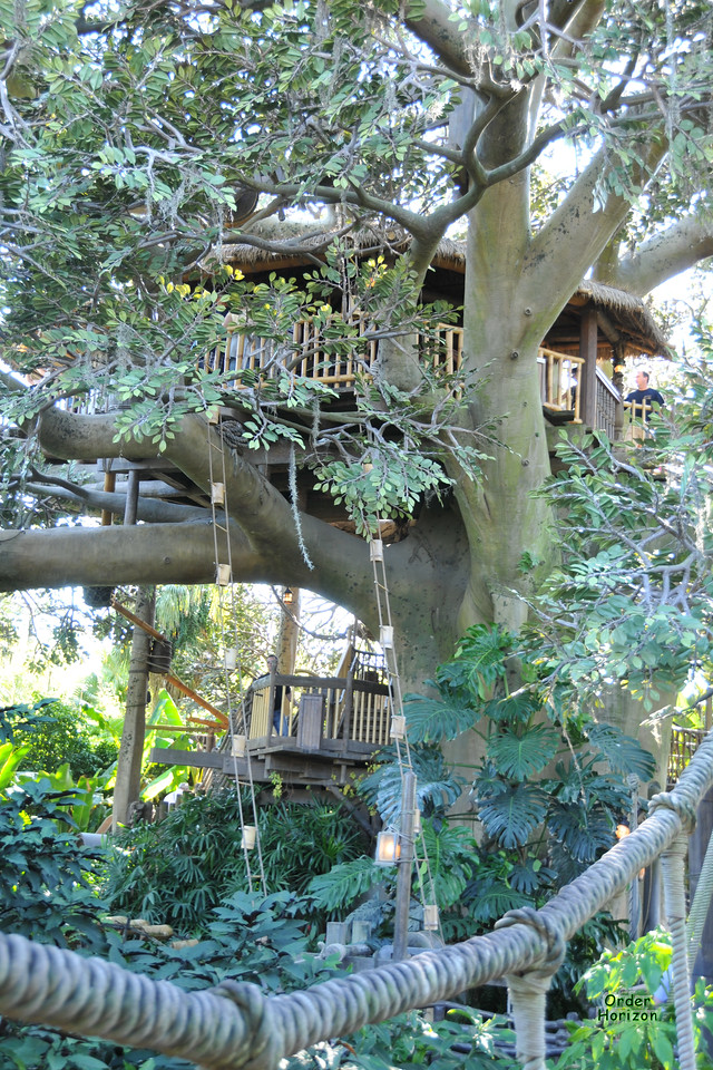 Adventure Land tree house
