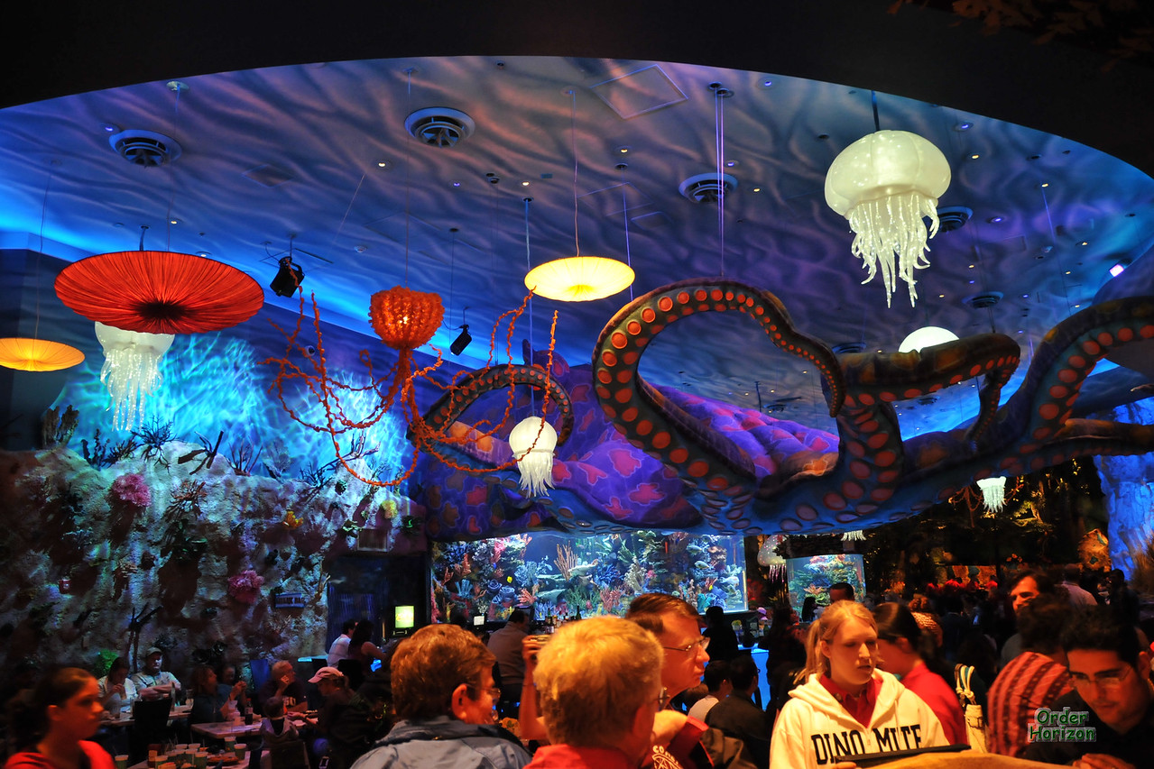 Downtown Disney ceiling