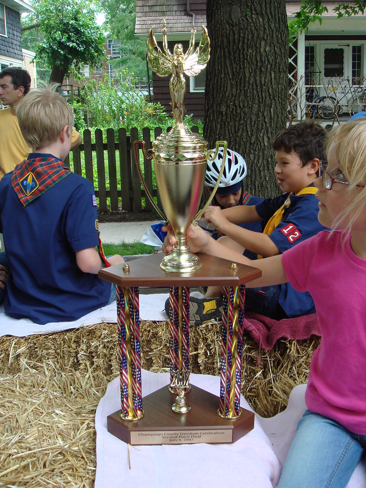 The trophy itself