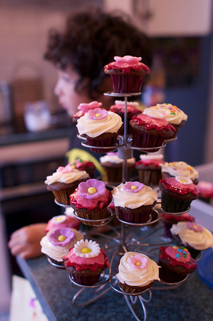 Cyane's birthday cupcakes