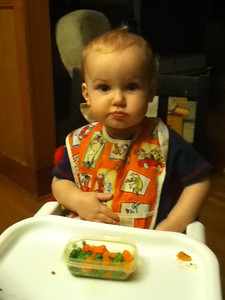 Eating peas and carrots