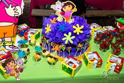 Tori's 4th Birthday Fiesta !!