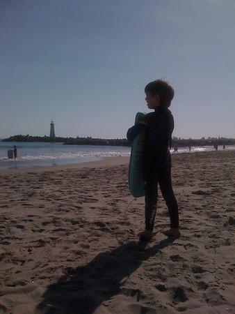Twin Lakes Beach: 5/14/09