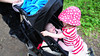 Catherine, you need to go in your OWN pushchair!