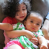 Cyane being very gentle and loving with Ishana