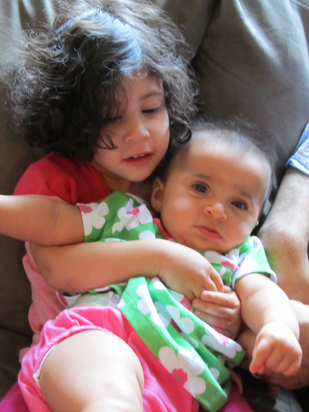 Cyane being very gentle and loving with Ishana
