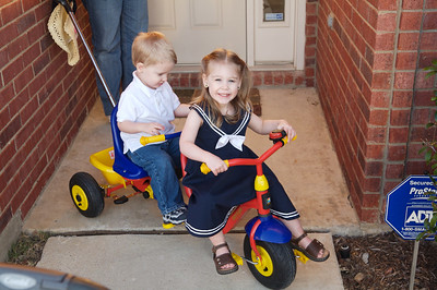A ride on the trike!