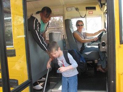 Tyler's  School bus drivers.  This was Kindergarden.  He went to Pine Forest Elem.