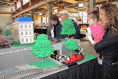 """Brickmania"" - a warehouse full of legos."