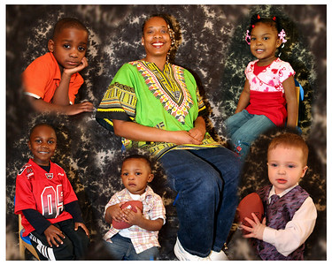 Yvette & kids