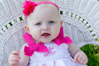 Zoey 6 months 11 9 14
