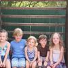 Madison, Noah (Bek's son), Bella, Owen, & Reese