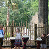 Always fun to beat a drum