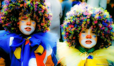 Venetian Carnival Twins