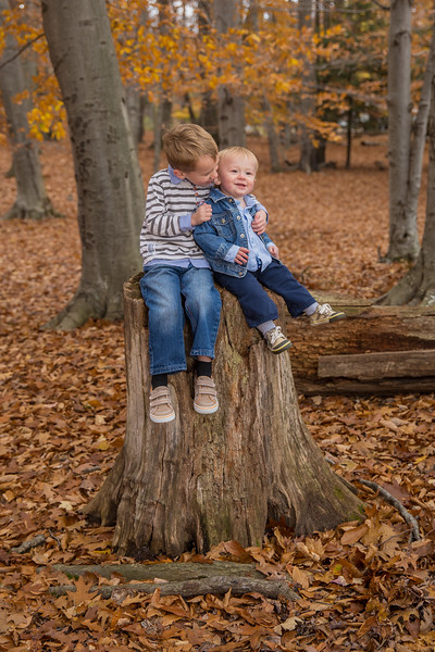 Had the opportunity to take our boys out and get some end-of-fall photos.