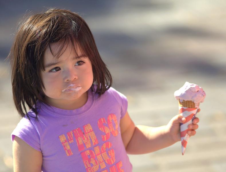 Ice Cream Face.