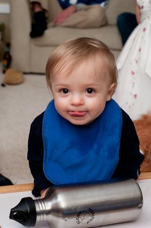Breyden's First Birthday, January 2009