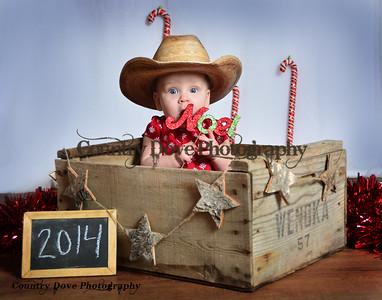 "Cowgirl Christmas ""Noel"""