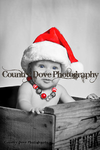 Christmas Baby - Black & White