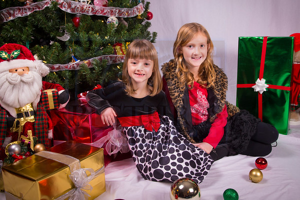 McKinley and Juno Christmas pics 2014