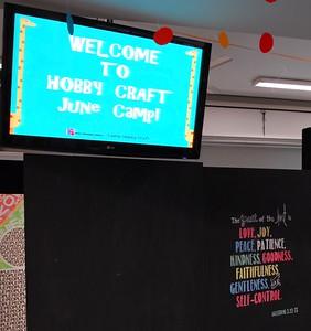 Camp Hobby Craft 2016 Day 1