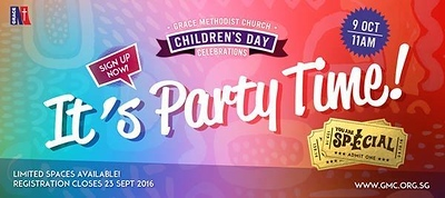 Children's Day Party 2016