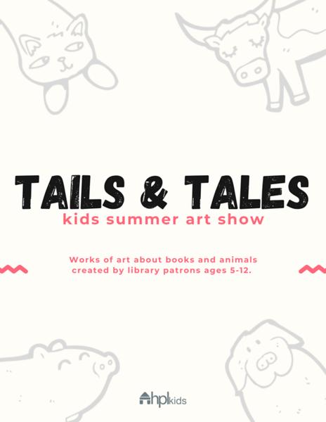 Kids Summer Art Show Flyer