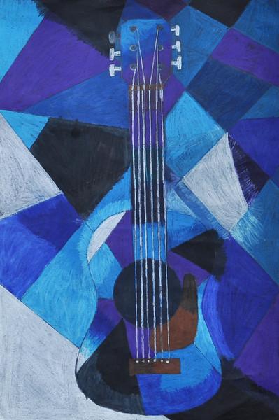 """""""Blue Period Guitar"""""""