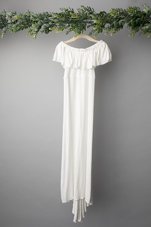 Winter White Harper Gown  Size: Toddler (2-4 years)