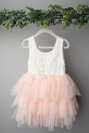 Soft Pink Angela Dress (size 4t) FRONT